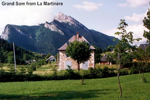 Photograph of Grand Som from la Martinière