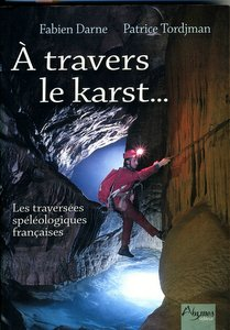 The cover of 'À Travers le Karst' by Fabien Darne and Patrice Tordjman (1502 edition)